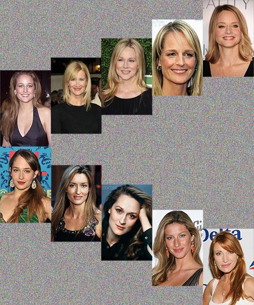 caucasian actresses